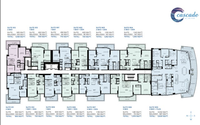 SubPH 901 - 175 Victory Ship Way (Cascade) - Lower Lonsdale Apartment/Condo for sale, 1 Bedroom (167478) #4