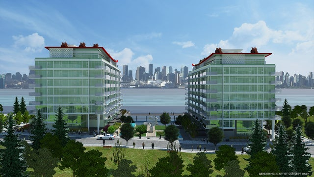 SubPH 913 - 175 Victory Ship Way (Cascade) - Lower Lonsdale Apartment/Condo for sale, 1 Bedroom (R2239939) #3